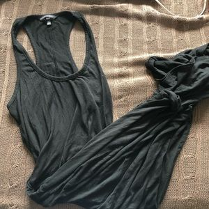 Victoria's Secret Maxi Dress in Black